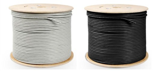 Cat6 bulk cable and Cat7 bulk cable